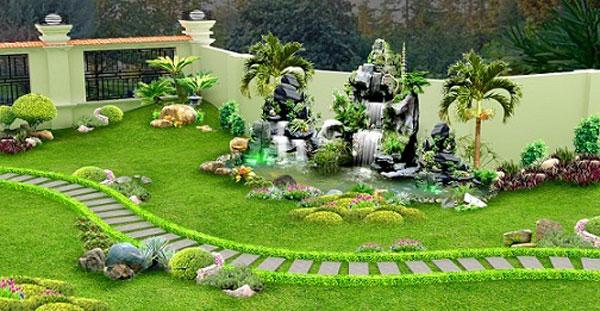 Thiết kế sân vườn- Thiết kế tiểu cảnh